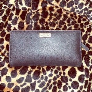 Black Leather Kate Spade Wallet